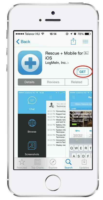 logmein rescue enterprise step by step connection guide starting a